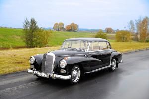 Bröllopsbil Mercedes-Benz 300 D 1959