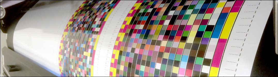 Icc-profiler för SUV, Solvent, Pigment-skrivare.