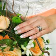 Bröllopsbukett av bröllopsfotograf Per Stålfors