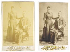 renovering av gamla bilder