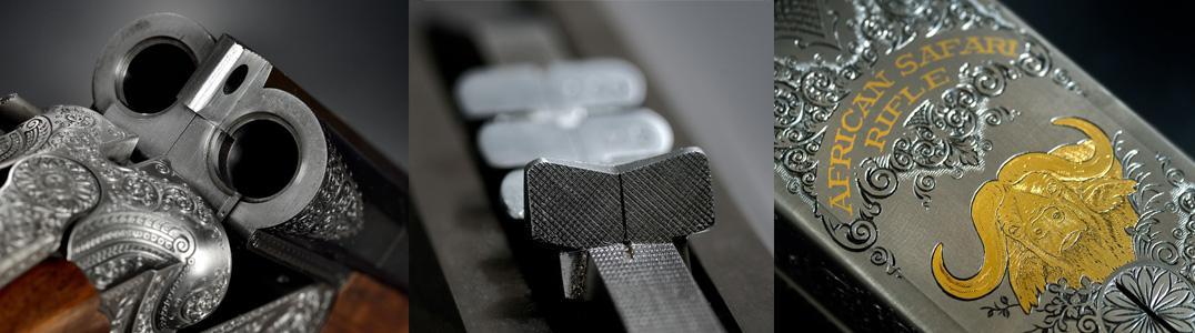 produktfotografering vapen detaljer