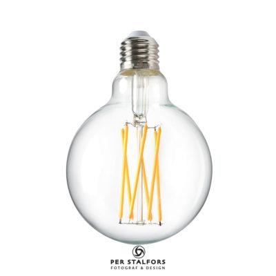 Produktfotografering lampa