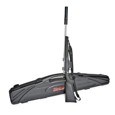Produktfotografering Hova gevär med koffert